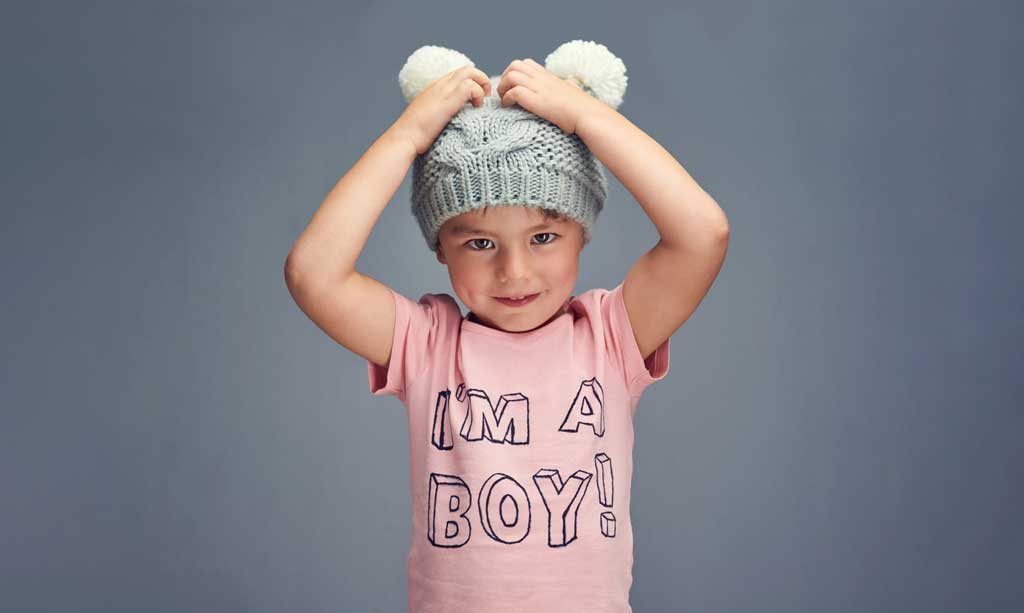 Ich bin ein Junge!