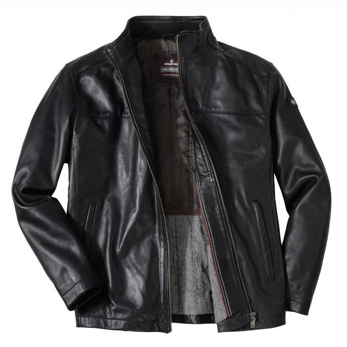 Zeitlose Modeklassiker: Die schwarze Lederjacke