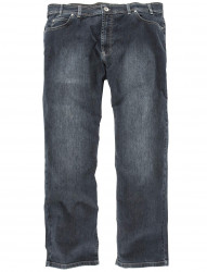Stretchjeans mit Used Waschung von Colac