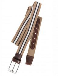 Vollstretch-Gürtel mit Lederdetails von Eurex by Brax
