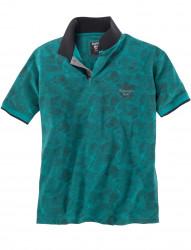 Poloshirt mit Allover-Print von Hajo