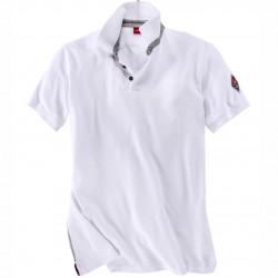 Modisches Polo Pique-Shirt mit Rückendruck von s.Oliver