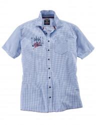 Freizeit Gitterkaro-Hemd, halbarm von CASA MODA