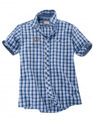 Seesucker-Hemd halbarm von CASA MODA