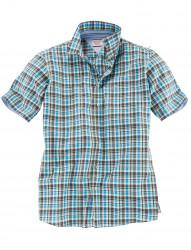 Sommerliches Karo Kurzarm-Hemd von CASA MODA