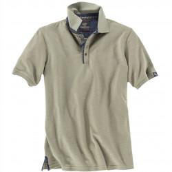 Poloshirt mit leichter Struktur von CASA MODA