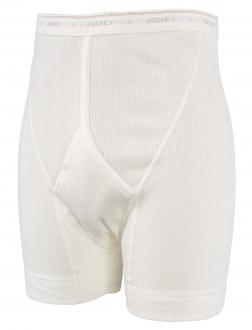 Feinripp Herren Unterhose weiß_1 | 8