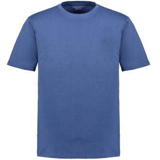 T-Shirt mit Rundhalsausschnitt jeansblau_125/43 | 3XL