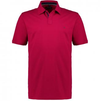 Stretch-Poloshirt, kurzarm dunkelrot_964 | 3XL