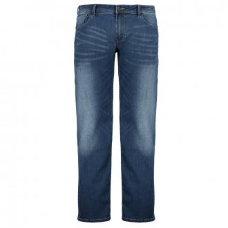 Strechtjeans mit leichter Waschung jeansblau_0597 | 42/32