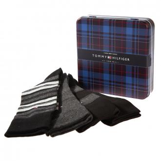 Herren-Socken im 4er-Pack inkl. Geschenkbox schwarz_003 | 43-46