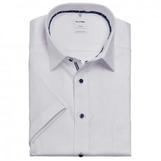 Bügelfreies Cityhemd mit Struktur, kurzarm weiß_00 | 46