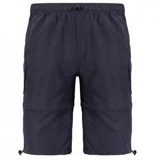 Softe Zipp-Off Short dunkelblau_212 | 3XL