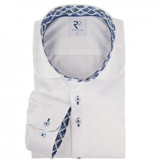 Freizeithemd in stilvollem Look, langarm weiß_004 | 3XL
