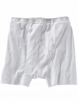 Weisse Feinripp-Pants von Jockey in Übergrößen weiß_1 | 8
