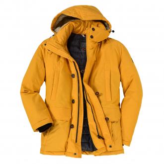 Warme Funktionsjacke mit unterschiedlichen Taschenvarianten gelb_64   62