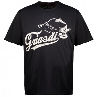 """Griasdi""-T-Shirt, kurzarm schwarz_0200 | 3XL"