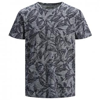 T-Shirt mit Allover-Print marine_NAVY | 3XL