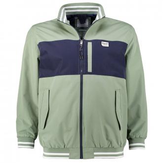 Jacke in College-Style, wasserabweisend grün_SEA | 3XL