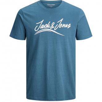 """T-Shirt mit """"Jack&Jones""""-Schriftzug blau_BLUE   3XL"""