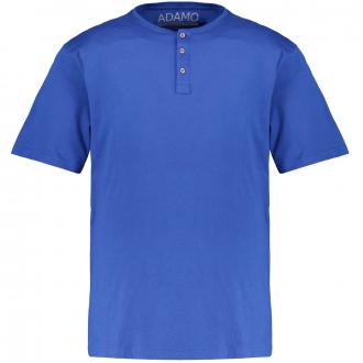 T-Shirt mit Serafinokragen blau_340 | 3XL