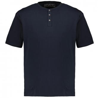 T-Shirt mit Serafinokragen dunkelblau_360 | 3XL