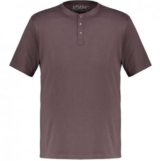T-Shirt mit Serafinokragen dunkelgrau_710/34 | 3XL