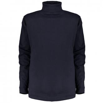 Leichtes Rollkragen-Shirt dunkelblau_360   6XL