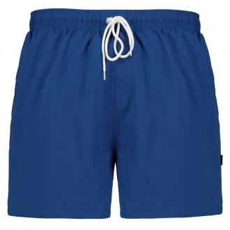 Badeshort mit Taschen blau_340 | 3XL