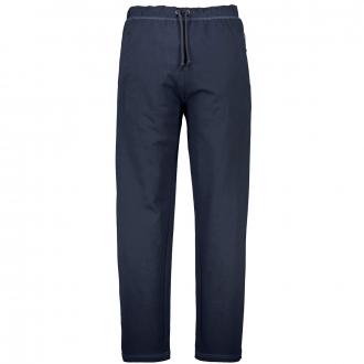 Bequeme Jogginghose mit Reißverschlusstaschen dunkelblau_360 | 3XL