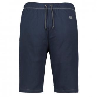 Kurze Jogging-Hose mit Reißverschlusstaschen dunkelblau_360   3XL
