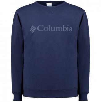 Hochwertiges Logo-Sweatshirt mit leichtem Fleecefutter dunkelblau_465 | XXL