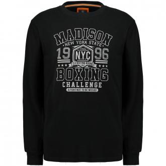 "Sweatshirt mit ""Madison 1996 Boxing""-Print schwarz_100 | 3XL"