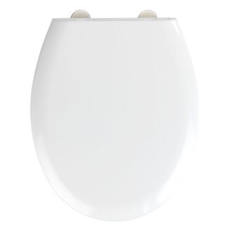 Extra-belastbarer WC-Sitz mit Absenkautomatik weiß_20 | One Size
