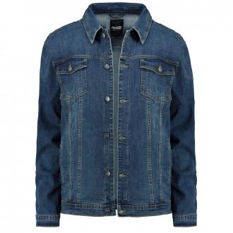 Jeansjacke mit Stretchanteil jeansblau_6500 | 6XL