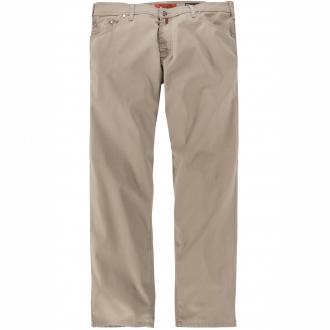 5-Pocket Baumwollhose mit Stretch beige_23 | 64