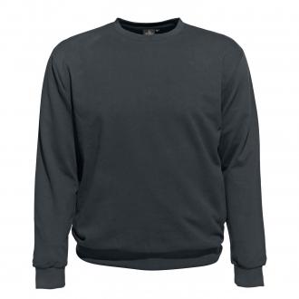 Basic-Sweatshirt grau_143 | 3XL