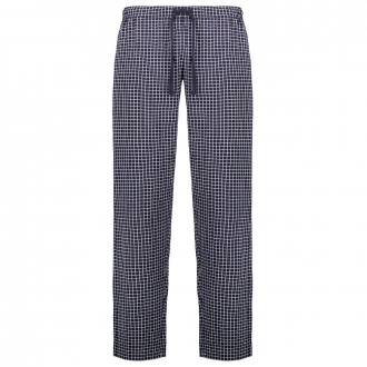Pyjamahose mit Allover-Print, lang dunkelblau_635   60/62