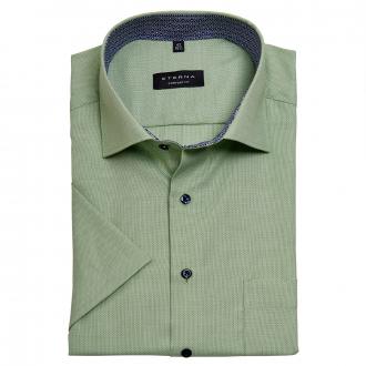 Dezent strukturierte Businesshemd, kurzarm grün_45 | 46