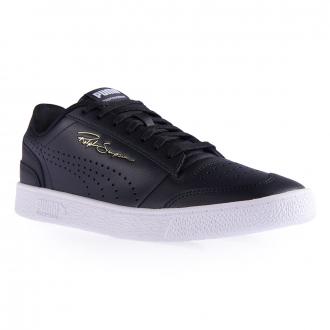 "Leder-Sneaker ""Ralph Sampson Lo Perf Color"" schwarz_0002   44.5"