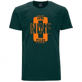 """Bequemes T-Shirt mit """"1964"""" Print dunkelgrün_270   5XL"""