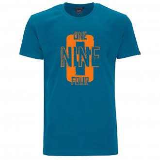 """Bequemes T-Shirt mit """"1964"""" Print blau_27   5XL"""