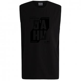 "T-Shirt mit Brustpring ""OÁHU"" schwarz_77 | 10XL"
