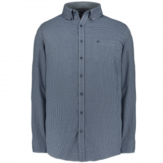 Modisches Freizeithemd blau_100   3XL