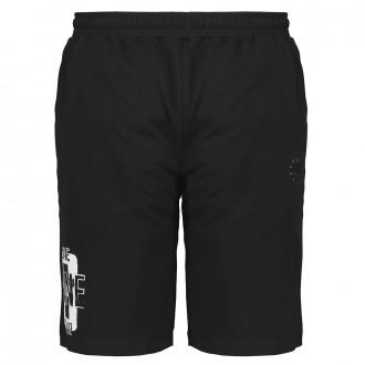 Kurze Jogging-Hose mit Taschen schwarz_77 | 10XL
