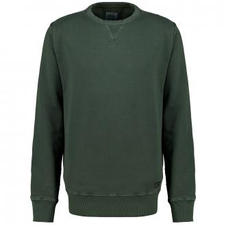 Sweatshirt in Garment-Dyed-Look grün_35   3XL