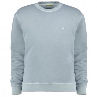 Lässiges Sweatshirt im Used-Look hellblau_73/42   4XL