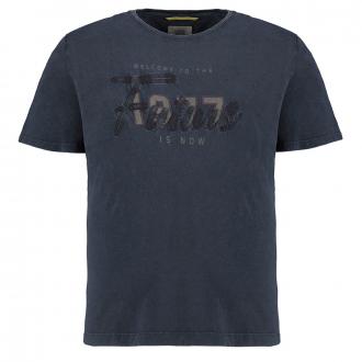 """T-Shirt mit """"1977 Future""""-Aufnäher dunkelblau_19   3XL"""