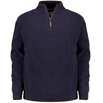 Troyer-Pullover mit hochwertiger dralon®-Faser dunkelblau_49 | 3XL