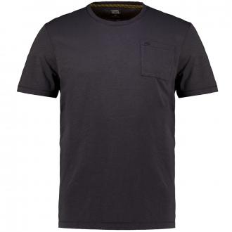 T-Shirt aus Biobaumwolle im Garment Dyed-Look anthrazit_88 | 3XL